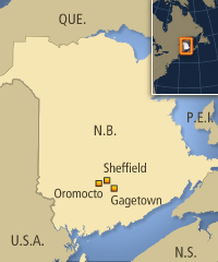 map gagetown