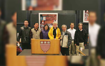 Vietnamese Victims of Agent Orange Visit Boston