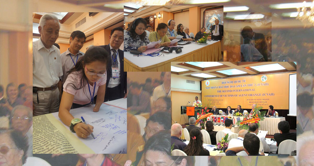 Appeal of the Second International Conference of Victims of Agent Orange/dioxin