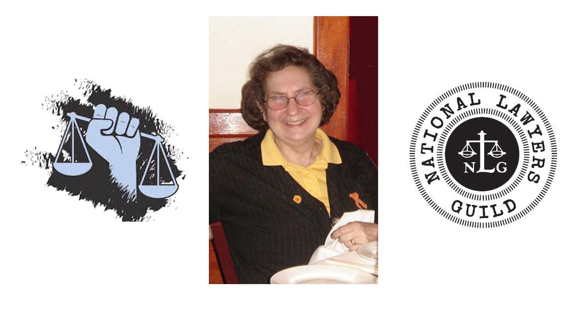 Jeanne Miller conferred The Debra Evenson Int'l Venceremos Award 2012