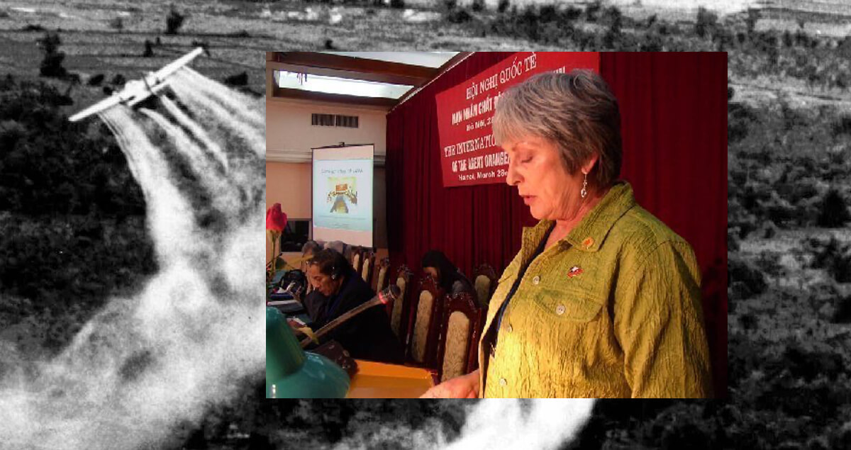 Speech given by Joan Duffy, Int'l Conf. of Victims of Agent Orange/dioxin