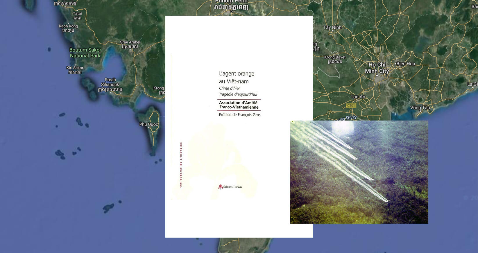 Book in French: Agent orange in Vietnam: Crime of yesterday, tragedy of today
