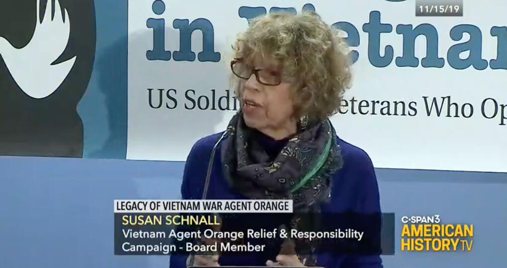 Legacy of Vietnam War Agent Orange Panel at George Washington Univ., DC