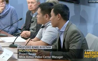Unexploded Bombs in Vietnam Panel, George Washington Univ., DC