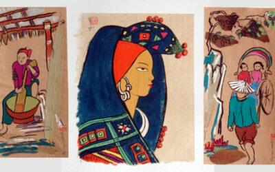 Water Color Paintings by Y Vân