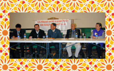 Leaders of the Vietnam Association for Victims of Agent Orange/Dioxin visit the U.S.