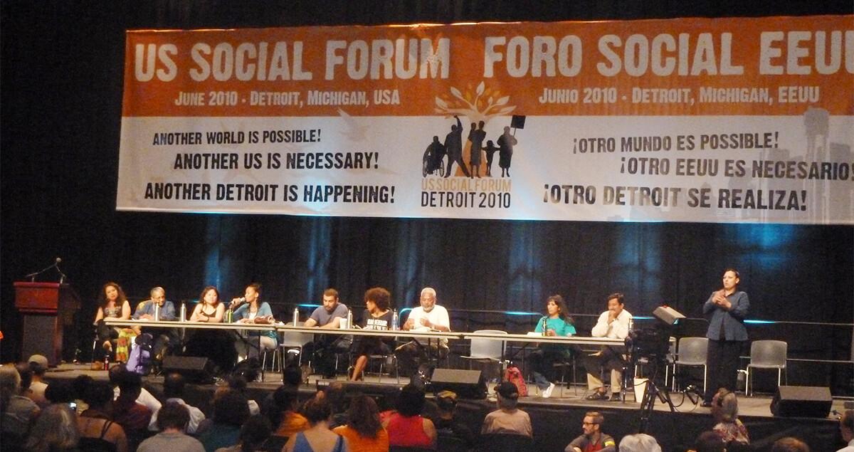 U.S. Social Forum 2010 Panel